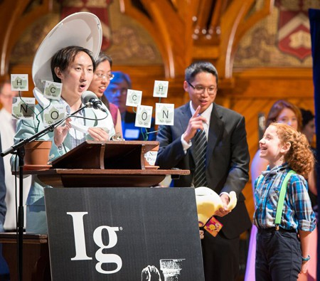 Ceremonia Ig Nobel 2015