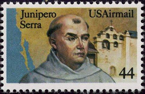 sello americano junipero serra
