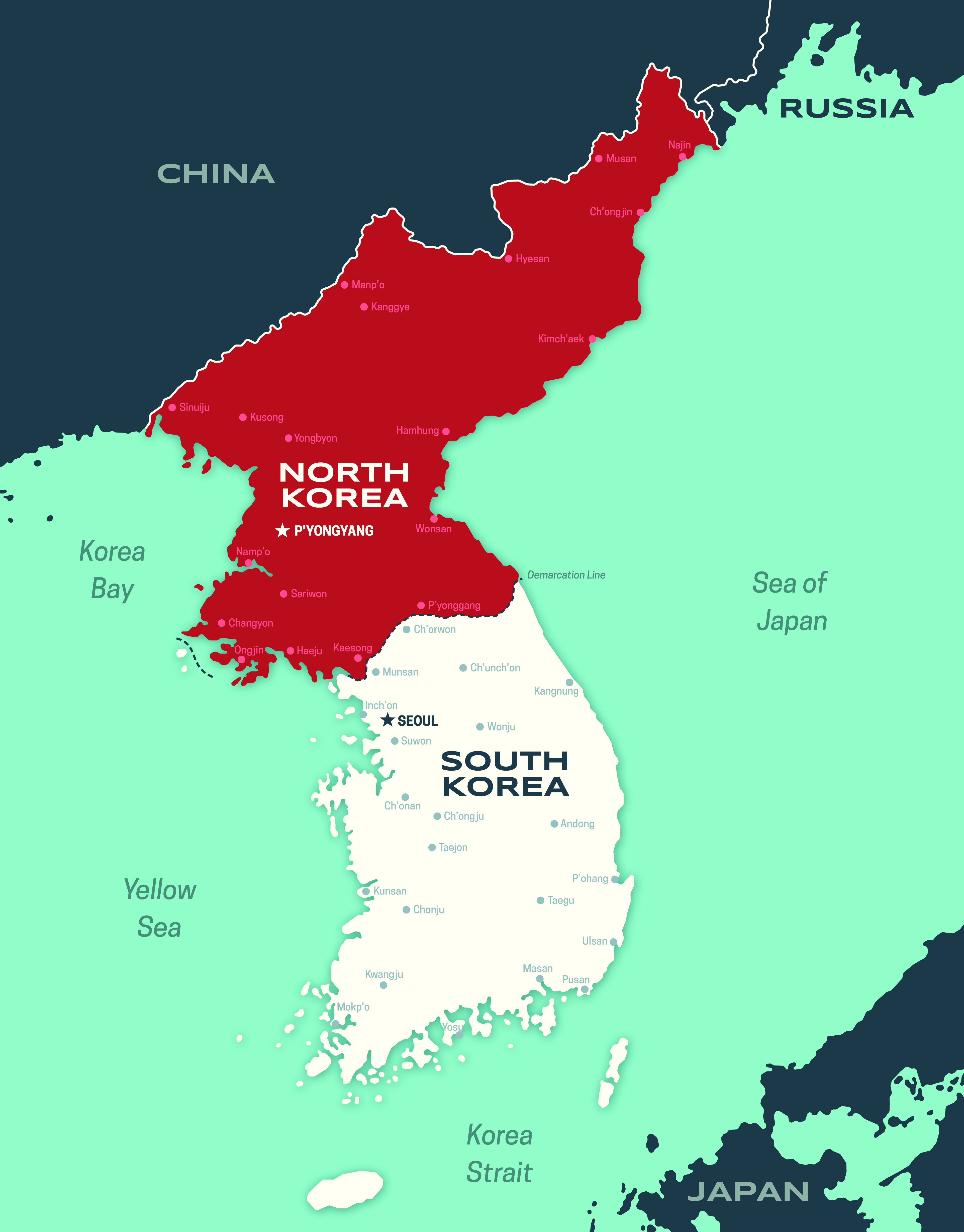 Why are north korea and south korea divided stories of our history map korea in 1948 the united states requested the united nations to determine the future of the peninsula by all koreans after the north refused to sciox Choice Image