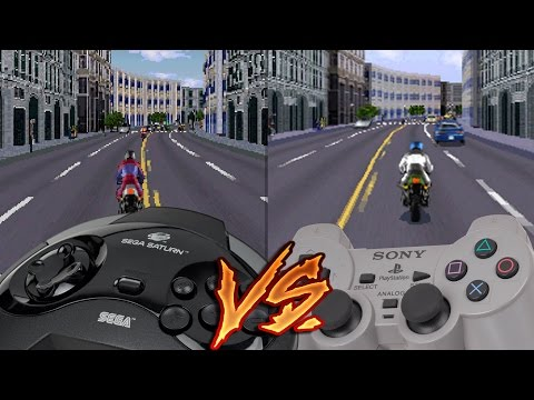 Sega Saturn vs Ps1