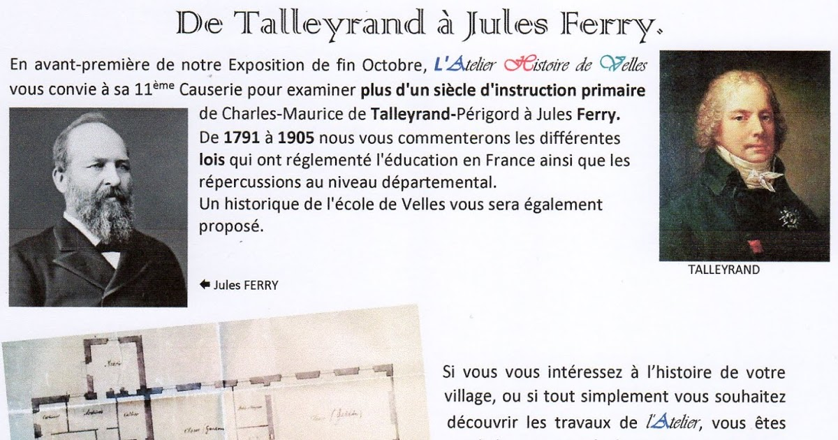 Talleyrand y Jules Ferry